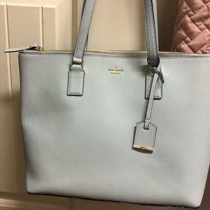 Kate Spade Large Shoulder Bag in Powder Blue